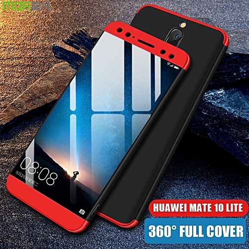 huge discount bc8c5 4797b For Huawei Nova 2i Case Rugged Full Protection Matte Armor Cover Luxury 3  In 1 360 Fitted Hard PC Phone Accessories For Huawei Nova 2i Phone Casing  ...