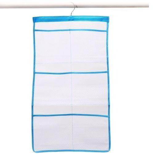 green mesh bath shower organizer 6 storage pockets hanging caddy bathroom accessories space saving