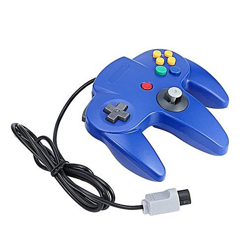 0ac69d47 Generic Game Controller Joystick For Nintendo 64 N64 System Deep Blue Pad  For Mario Kart