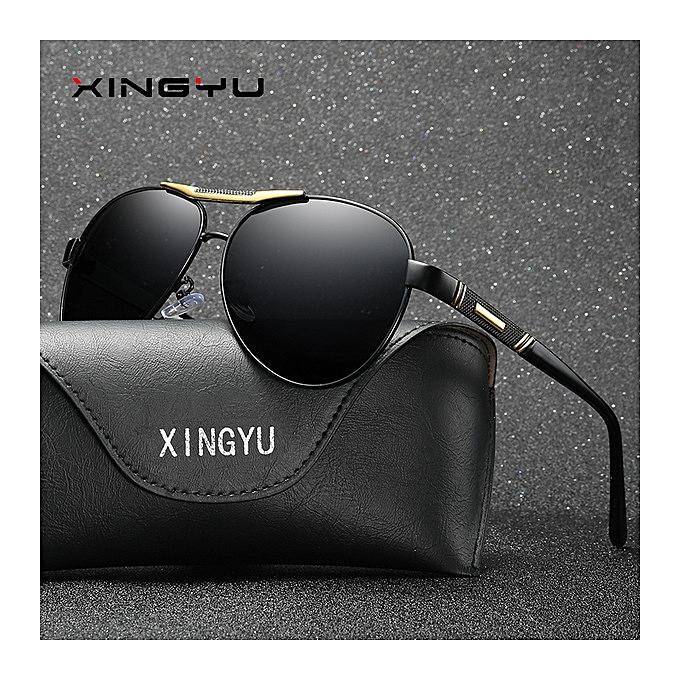 3c9e2d6561e ... Grace New men and women polarized sunglasses inside blue film driving  glasses-black-black ...