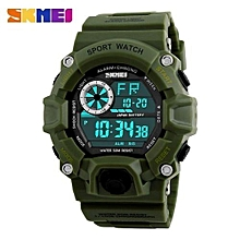 men digital sports watches led military swim wristwatches waterproof alarm chronograph rubber strap relogio masculino