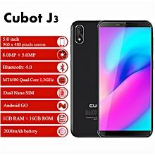 J3 - 3G - 5.0 inch - 1GB RAM 16GB ROM - Android GO - 2000mAh - Black