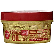 Professional Styling Gel Moroccan Argan Oil   - (237ml)