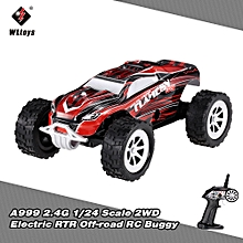 A999 2.4G 1/24 Scale 2WD Full-Scale Speed Switch Electric RTR Off-road Buggy RC Car