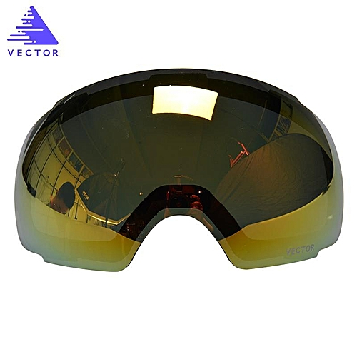 d370958148a Generic VECTOR Ski Goggles Replaceable Plus Lens Red UV400 Anti Fog Snow  Skiing Glasses  red   Best Price