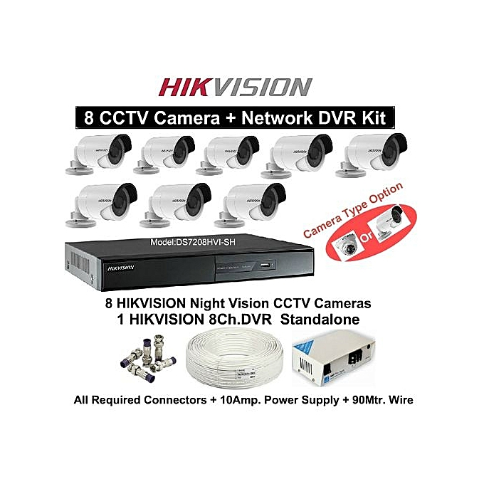 1080p 8 Channel Turbo Full HD CCTV Kit
