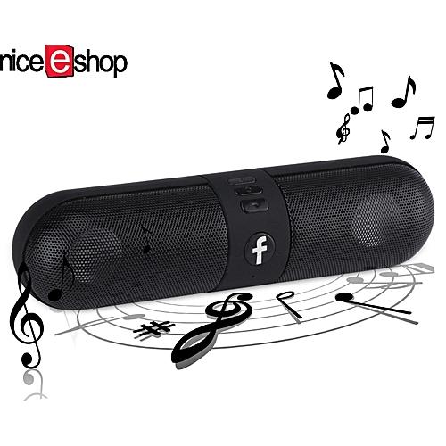 Portable Capsule Wireless Bluetooth Stereo Speaker For Smart Phone  Laptop,Black JY-M