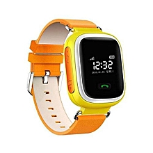New Kid GPS Smart Watch Wristwatch SOS Call Location Finder Locator Device Tracker For Kid Safe Anti Lost Monitor Orange