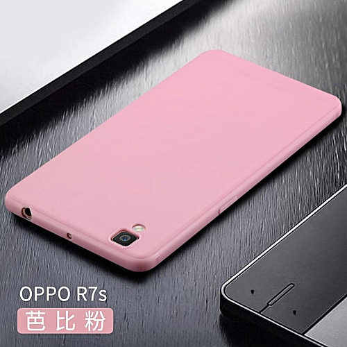 pretty nice 3b3b2 c58e2 Soft Case For OPPO R7S Ultra Thin Smooth Back Cover Casing For OPPO R7S  Cases Housing Shell
