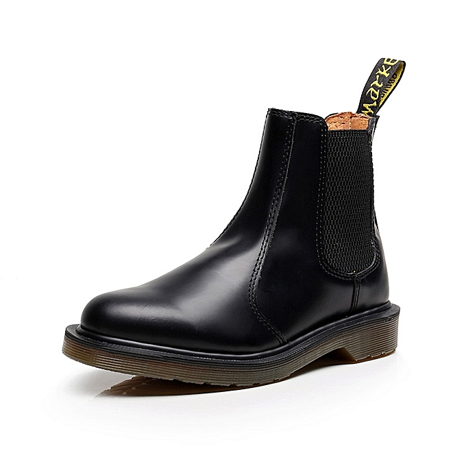 SocNoDn Mens Fashion Leather Boots Male Safety Office Boots Shoes ... fc337456633