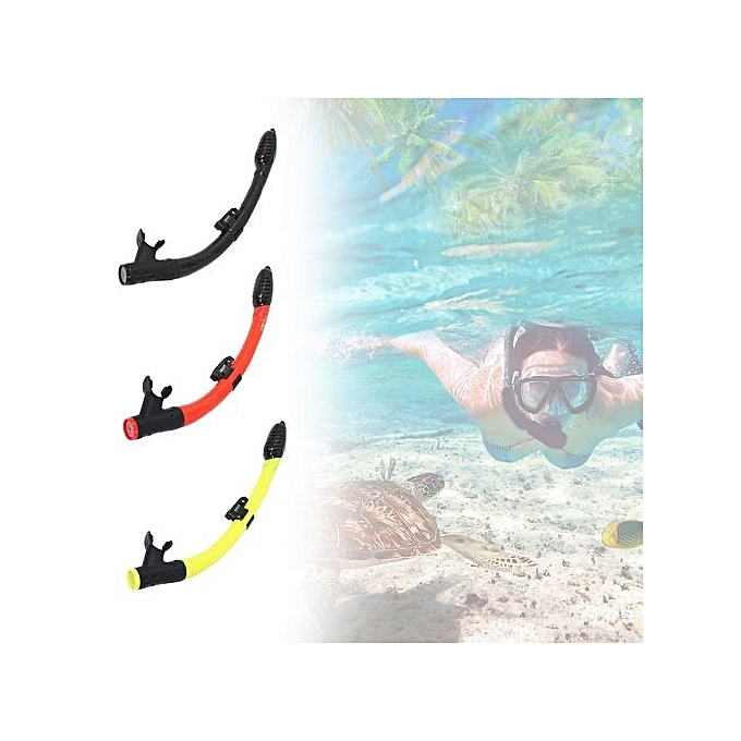 ... UL AS-303JF Snorkel Breathing Tube Children Diving Snorkeling Accessories Red