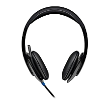H540 - Full Stereo USB Headset with Microphone - Black