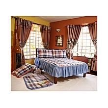 4 x 6 - Bed Cover Set - 4Pcs - Multicolour