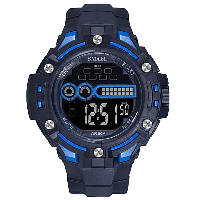 a6cfb57ee Digital Wristwatches Military LED Clock Watch Men Mechanical Automatic Men  Watch Waterproof1526 Mens Army Watches Military