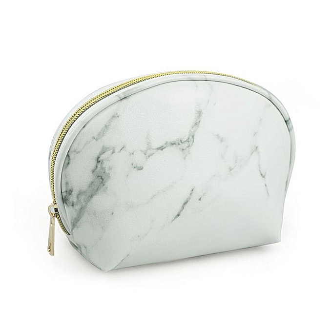 68e86d825ef9 Marble Texture Travel Wash Up Toiletry Pouch Large Capacity Storage Bag  Women Cosmetic Makeup Cosmetic Bags Makeup Organizer Bag(C)