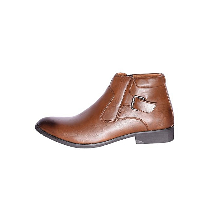 a4677cb06b0236 Generic Men s Boots-Brown   Best Price