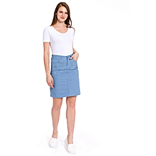 Blue Fashionable Skirt