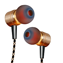 X41M Magnetic Earphone, HIFI Fever in-ear Transient Headset - Golden