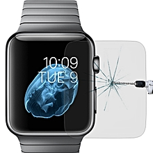 For Apple Watch Edition 38mm 38mm Dial Diameter 9H+ Surface Hardness 2.5D Explosion-proof Tempered Gl Film