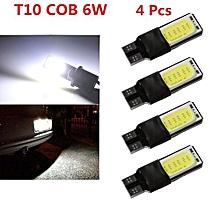 Side Lamp Wedge Light Bulb  White LED 6W No Error COB Canbus 4pcs T10 W5W 194 168 2825 12961