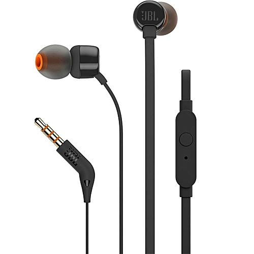 T110 In-Ear Headphones-Black