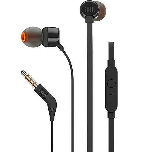 T110 In-Ear Headphones-Black