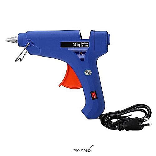 100W Professional Constant Temperature Hot Melt Gun Process Maintenance  Tool With Switch Eu Plug