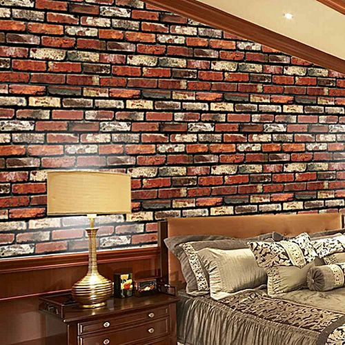 Universal brick effect tile stickers kitchen bathroom wall for Home decorations on jumia