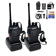1Pair (2 Units) BaoFeng BF-888S BF888s BF 888s 16 Channel Walkie Talkie UHF 5W