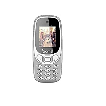 3310 Feature Phone With Torch Light & 1,000 MAh Battery - Grey
