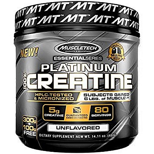 Platinum Creatine - 400gms/80 servings