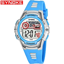9738 Child Watch Sport Watch Luminous Alarm Digital Waterproof Wrist Watch kid Watch