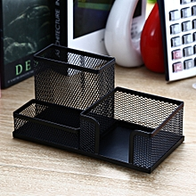 9175 Metal Wire Mesh Pen Holder Stationery - Black