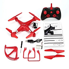 OR KY101S RC Drone Wide Angle 1080P Camera Altitude Hold Quadcopter 18Mins-Red