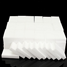 Nano 100PCS Sponge Magic Magic Wipe The Kitchen Clean Cleansing Scrub Dish Sponge Magic Sponge Multi-function Foam Cleaning Eraser Material: Melamine Color: White Size: 10 * 6 * 2cm