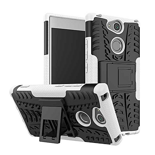 brand new 9b19d bffac Case For Sony Xperia XA2 Hard Plastic With Stand Luxury Armor Back Cover  For Sony Xperia XA2 Cases