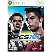 XBOX 360 Game PES 08