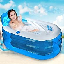 Adult Child Portable Warm Bathtub Inflatable Bath Tub Electric Air Pump Blow Up