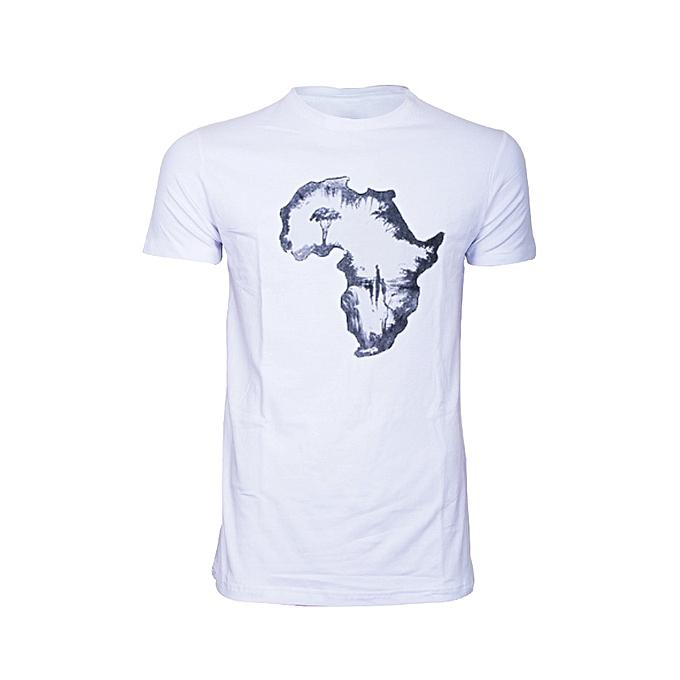 White Afro T-shirt
