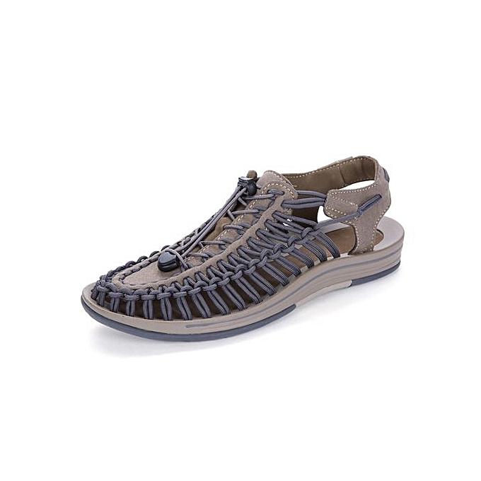 Buy Generic Men Sandals Handmade Men Shoes Leather Shoes Beach