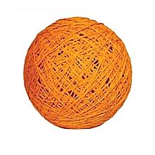 Decorative yarn ball - Orange