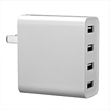 Xiaomi 4 USB Ports 7A US Plug Wall Charger For Cell Phone Tablet Camera Powerbank