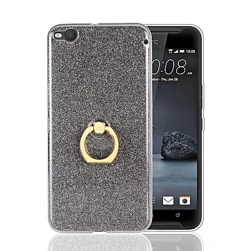 more photos ddf16 f098d Metal Buckle Ring TPU Phone Cover Case for HTC One X9