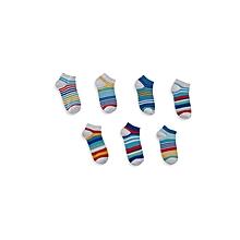 Multicoloured Fashionable Socks Set
