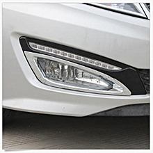 New Chrome Front Fog Light Cover Trim For KIA K5 Optima 2011 2012 2013