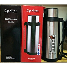 3.5L Stainless Steel Double Wall Thermos Flask