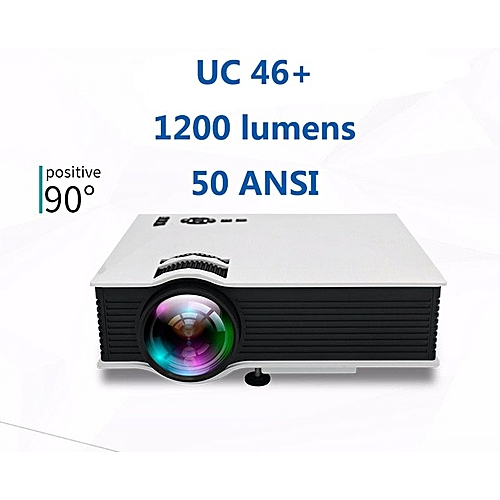 AirSharing theater multimedia projector UNIC uc46+/UC68 mini-led projector  with Full HD 1080p Video WOEDB