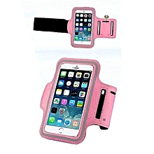 Bluelans Sports Adjustable Armband Gym Equipment Case Cover For 6 Plus Pink