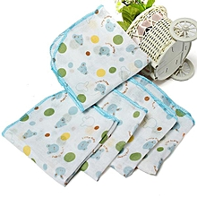 10Pcs Baby Infant Newborn Soft Washcloth Bath Towel Bathing Feeding Wipe Cloth