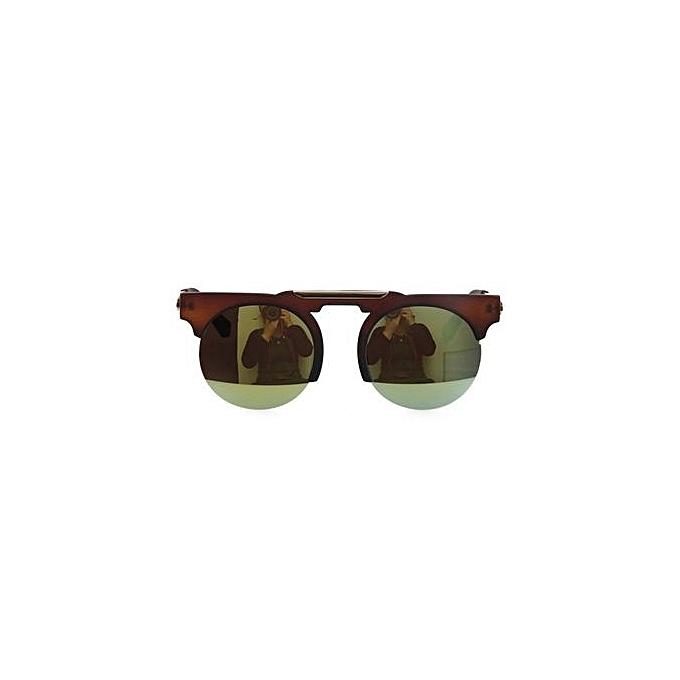 774e122ac7 Fashion EOZY Fashion Women Semi - Rimless Sunglasses Vintage Ladies Leisure  Sun Glasses Summer Beach UV Protection Goggle Eyewear (Multi-color)